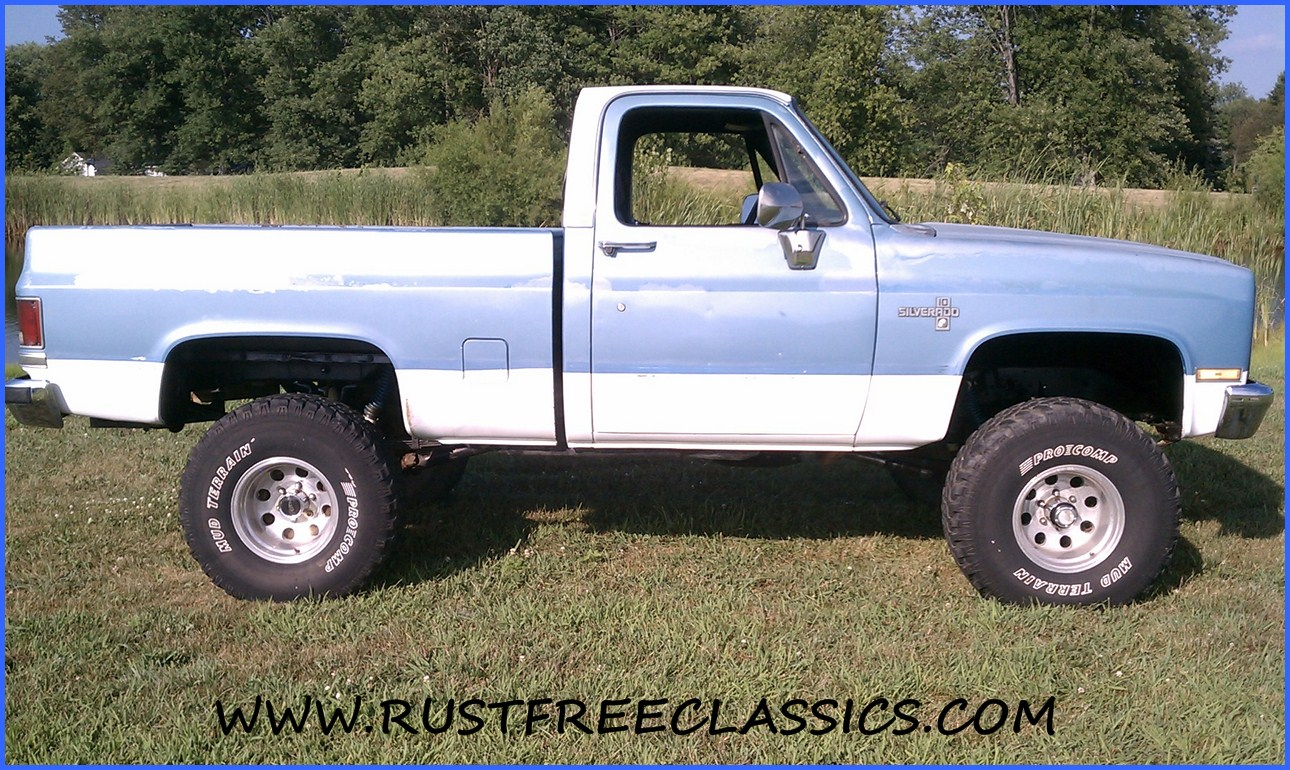 All Chevy 1980 chevy k10 : 87 K10 Short Bed SWB Silverado fuel injected 6 inch lift 4x4 1987 ...